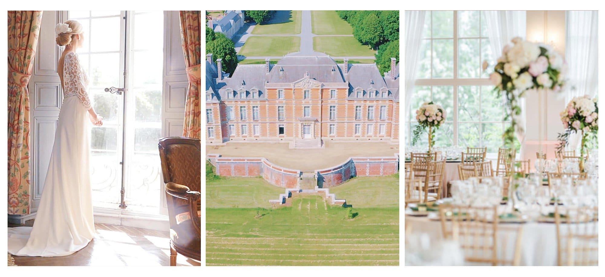 Château de Tilloloy - Vidéaste mariage France - Wedding videographer French