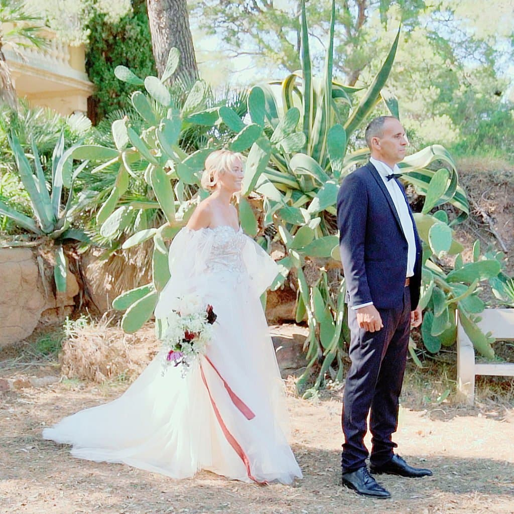 Vidéaste mariage Découverte mariés